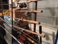 I have 6 Trolling Fishing Poles & 4 Casting Poles left
