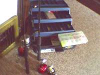 2 poles with reels 2 xtra reels and tackle box with