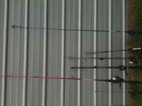 I do not know much about fishing poles. but selling a
