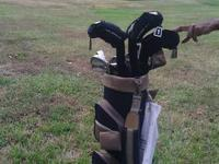 Four fishing poles and accessories. $15. to $20. Also
