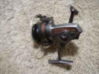 SHAKESPEARS COMBO 300 FISHING REEL, CAPACITY 160 YDS 8
