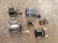 Fishing reels for sale. $10-$20 each or $200 for all 20