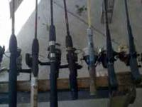 I am selling off my excess fishing gear. I have many