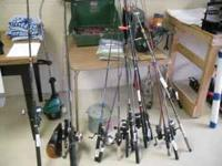 Fishing Rods and Reels from $15 and up Mtn View Pawn
