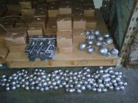 We sell fishing weights at wholesale prices. Come over