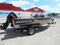 Here is a great fishing boat. This is an aluminum boat
