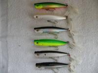 FOR SALE:. (6) Stillwater Smack-It Fishing Lures. They