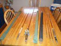 1 - 9 foot Kingfisher Fly Rod with sock 1 - 9 foot
