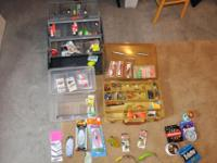 Large collection of fishing Tackle - $50 Firm Tons of