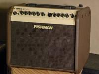 Selling fishman loudbox mini, less than a year old,