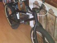 I am selling a fit bmx bike.  eastern pedals. al other