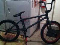 I am selling my matte green street 3 fit bmx. It is a
