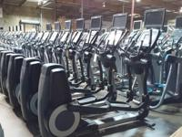 We sell used commercial grade fitness equipment for
