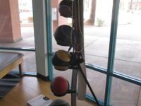 Fitness Equipment To Include: (1) Medicine Balls Set