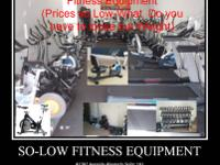 Variety of Fitness Equipment all NEW and @ Wholesale