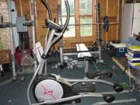 Fitness Gear 820 elliptical exercise bike for sale.