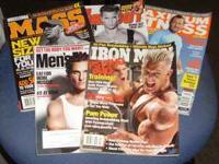 Men's Fitness Magazines: Iron Man -- May 2011 Men's