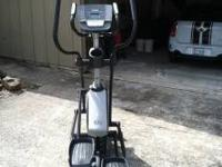 Brand new Nordictrack elliptical for sale! Ok here is