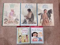 Lot of five American Girl books- excellent condition!