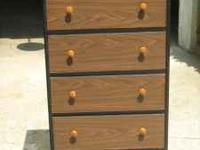 Clean, 5 Drawer dresser. Solid - heavy piece Call  (no