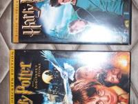 Five Harry Potter DVDs Harry Potter and the Chamber of