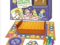 Five Little Monkeys Game board game new in box retails