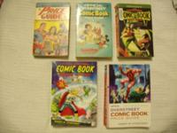 These five Overstreet Comic Book Price Guides from
