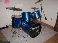 This like new Ludwig Accent Combo kit is just the thing