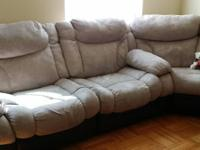 Hey there, I am offering my 5 Piece Sectional from