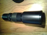 5 Star Manual Focus 500mm f8 lens for Pentax 35mm SLR.