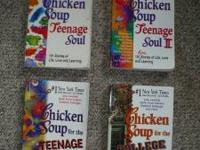 Great books for the young adult. FIVE books (only four