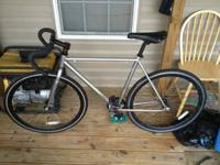 "Phat cycles ""phixie"" repaired gear bicycle originally"