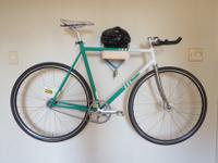 Fixed gear bike, high quality english frame, bottom