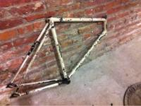 Raleigh circa 1970's frame. 57 cm ready to be built up.