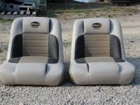 These are fixed back premium boat seats for only $85