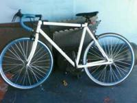 55 cm..rides smooth..still in excellent condition