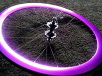 I am selling a perfect star wheelset with a rear origin