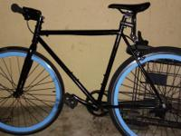 I have a pure fix fixie aluminum light frame bike with