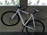 I am selling my 6ku track bicycle fixie. 55cm. This