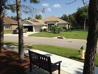 This is a upscale 3 bedroom, 3 bathroom gated golf