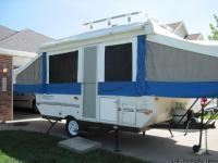 2004 Flagstaff pop-up camper, box is 12 ft long.