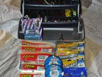 For sale is a 3 tray Flambeau tackle box FILLED with