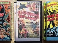 Complete set of the original Flash Gordon movie