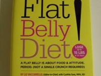 Flat Belly Diet. Hardcover. Please call or text  for