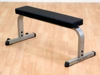 Body Solid Flat Bench on sale.   Only $150 !!!   Reg.