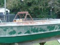 12ft. Flat Bottom Jon boat with Electric Motor The boat