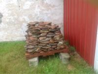 Flat Fieldstone for sale! Pallet dimensions are