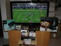 "Hey, selling our 42"" FlatScreen HDTV, PlayStation 3 w /"