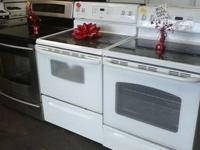 WE HAVE STAINLESS STEEL APPLIANCES, ALL BLACK, WHITE