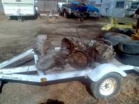 "Flatbed Trailer - 8' X 62"" X 20"" - Call, Text or Email"